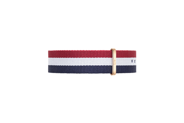 Daniel Wellington Cambridge Rose Gold 20mm Strap  - Click to view larger image