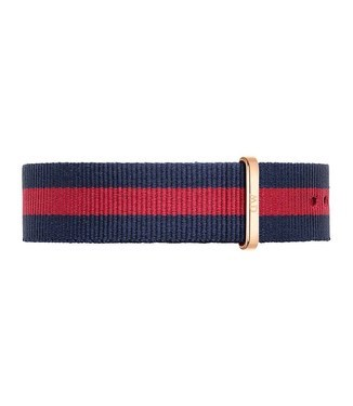 Daniel Wellington Oxford Rose Gold 20mm Strap  - Click to view larger image