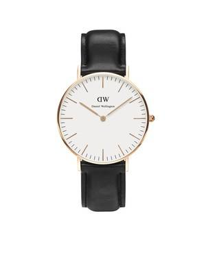 Daniel Wellington Sheffield 36mm Rose Gold Watch  - Click to view larger image