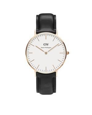 Daniel Wellington Sheffield 36mm Rose Gold Watch