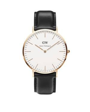 Daniel Wellington Sheffield 40mm Rose Gold Watch  - Click to view larger image