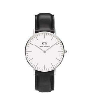 Daniel Wellington Sheffield 36mm Silver Watch  - Click to view larger image