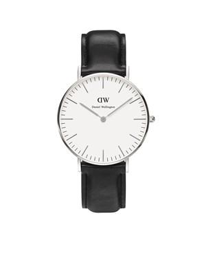 Daniel Wellington Sheffield 36mm Silver Watch