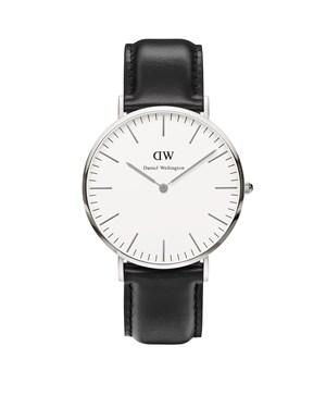 Daniel Wellington Sheffield 40mm Silver Watch