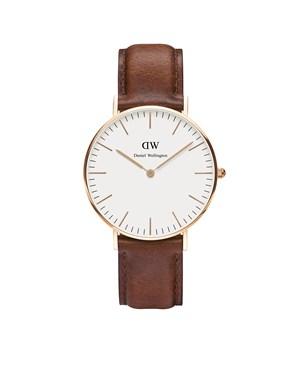 Daniel Wellington St Mawes 36mm Rose Gold Watch