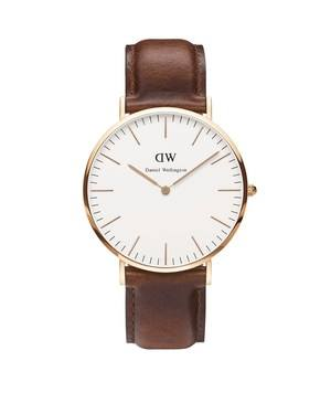 Daniel Wellington St Mawes 40mm Rose Gold Watch  - Click to view larger image