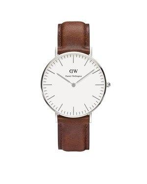 Daniel Wellington St Mawes 36mm Silver Watch