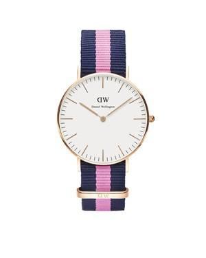 Daniel Wellington Winchester 36mm Rose Gold Watch