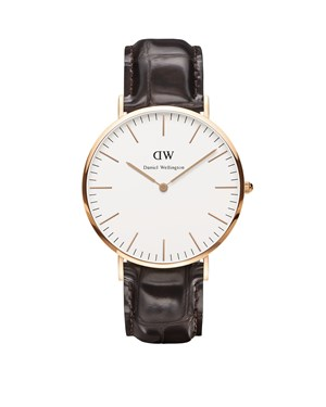 Daniel Wellington York 40mm Rose Gold Watch  - Click to view larger image