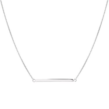 Argento Silver Bar Necklace  - Click to view larger image