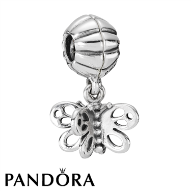 Pandora Friends Forever Butterfly Charm - Click to view larger image