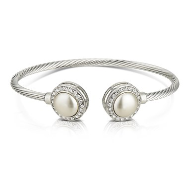 August Woods Pearl Society Bangle