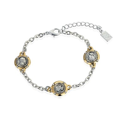 August Woods Three Coin Bracelet