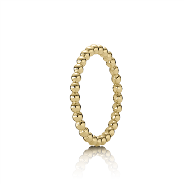 Pandora Gold Bubble Ring