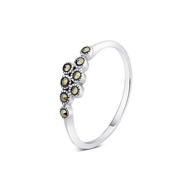 Argento Marcasite Ring