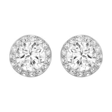 Swarovski Angelic Rhodium Earrings  - Click to view larger image