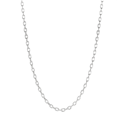 Pandora White Gold Necklace
