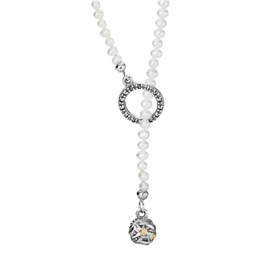 Pandora Diamond Lariat Necklace