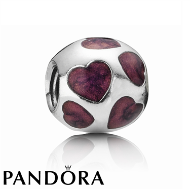 Pandora Purple Love You Charm