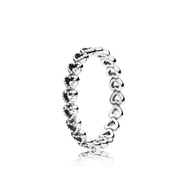 Pandora Linked Love Ring  - Click to view larger image