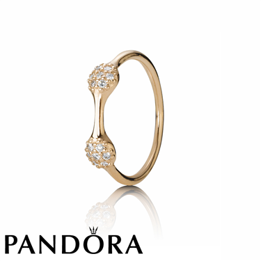 Pandora Rose Gold Two Pod Ring