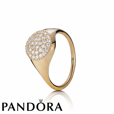 Pandora Rose Gold Large Lovepod Ring