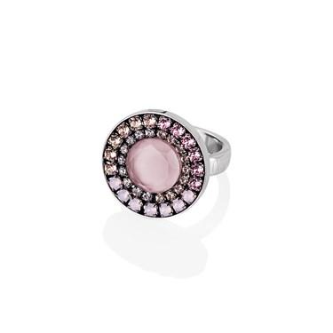 Coeur De Lion  Pink S16 Pink Crystal Ring
