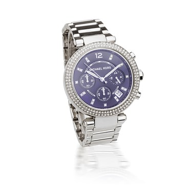 Michael Kors Parker Blue Chronograph Watch