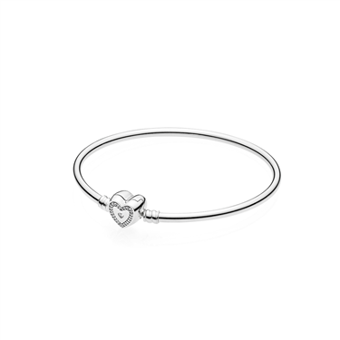PANDORA Wishful Heart Moments Bangle