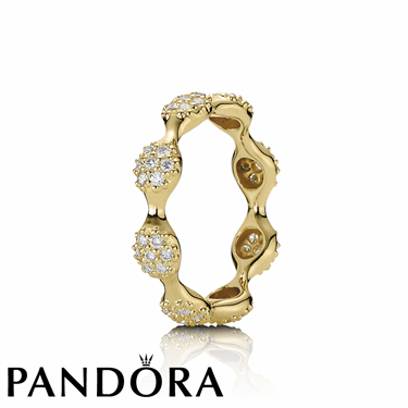 Pandora Eight Diamond Lovepod Ring