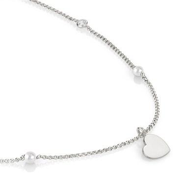 Nomination  Bella Silver Heart Necklace