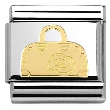 Nomination  Gold Handbag Charm