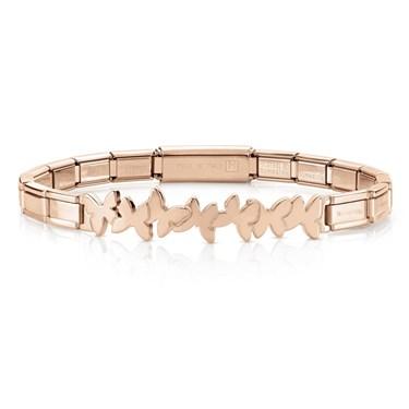 Nomination  Trendsetter Rose Gold Butterfly Bracelet