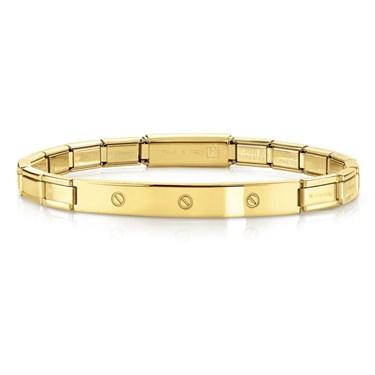 Nomination  Trendsetter Gold Screw Bracelet