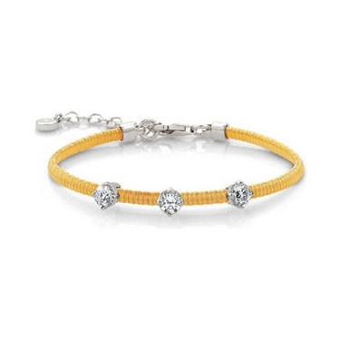 Nomination Yellow Flair Bracelet   - Click to view larger image