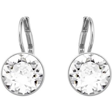 Swarovski Mini Bella Rhodium Earrings  - Click to view larger image