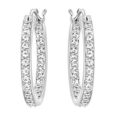 Swarovski Summerset Hoop Earrings  - Click to view larger image