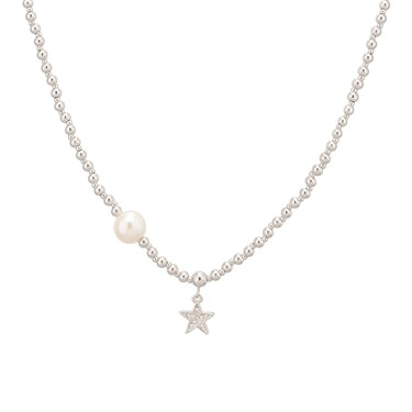 August Woods Starry Night Pearl Necklace