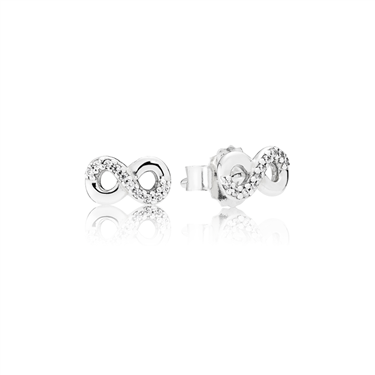 PANDORA Infinite Love Earrings  - Click to view larger image