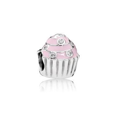 PANDORA Sweet Cupcake Charm  - Click to view larger image