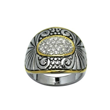 Karma Antique Crystal Ring