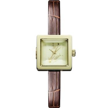 Vivienne Westwood Brown & Gold Babycube Watch
