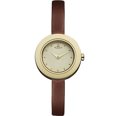 Vivienne Westwood Brown & Gold Edge Watch