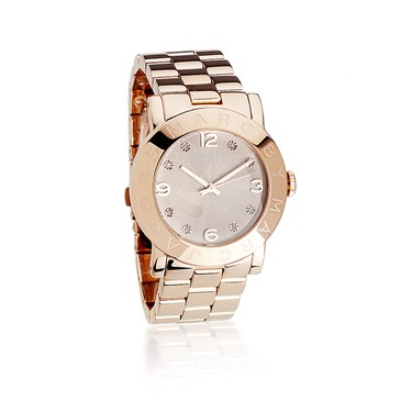 Marc by Marc Jacobs Amy Rose Gold Watch with Rose Gold Dial  - Click to view larger image