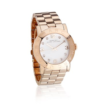 Marc by Marc Jacobs Amy Rose Gold Watch  - Click to view larger image