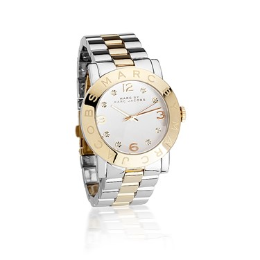 Marc by Marc Jacobs Amy Stainless Steel and Gold Mix Watch