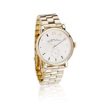 Marc by Marc Jacobs Baker Gold Watch  - Click to view larger image