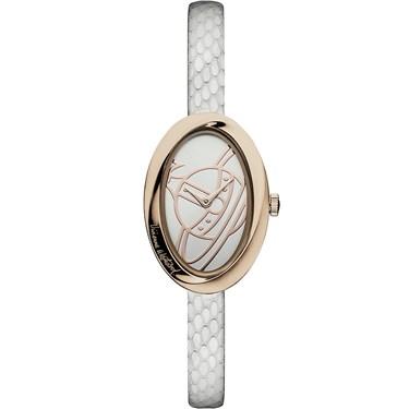 Vivienne Westwood White & Rose Gold Twist Watch