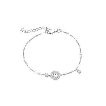 Argento Shimmering Open Heart Bracelet