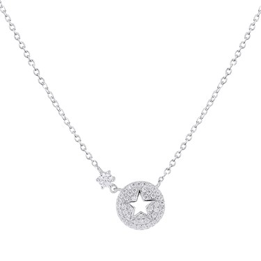 Argento Silver Starry Night Necklace